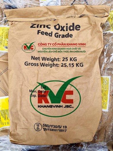 Kẽm oxit ( Zinc oxide - ZnO) hàm lượng 72% 75%3