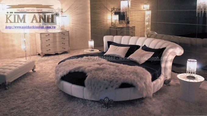 30 mẫu giường tròn sành điệu nhất năm 2021 cho phòng ngủ của bạn tại Dầu Tiếng - Bình Dương20