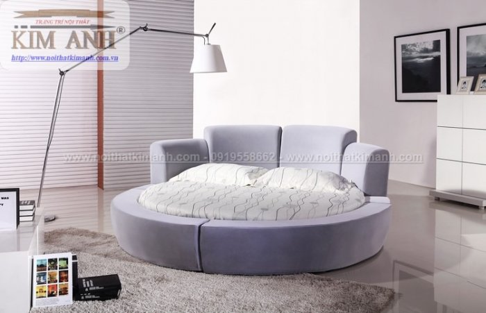 30 mẫu giường tròn sành điệu nhất năm 2021 cho phòng ngủ của bạn tại Dầu Tiếng - Bình Dương17