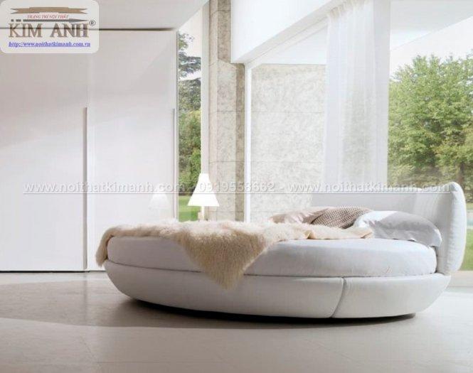 30 mẫu giường tròn sành điệu nhất năm 2021 cho phòng ngủ của bạn tại Dầu Tiếng - Bình Dương9