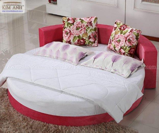 30 mẫu giường tròn sành điệu nhất năm 2021 cho phòng ngủ của bạn tại Dầu Tiếng - Bình Dương8