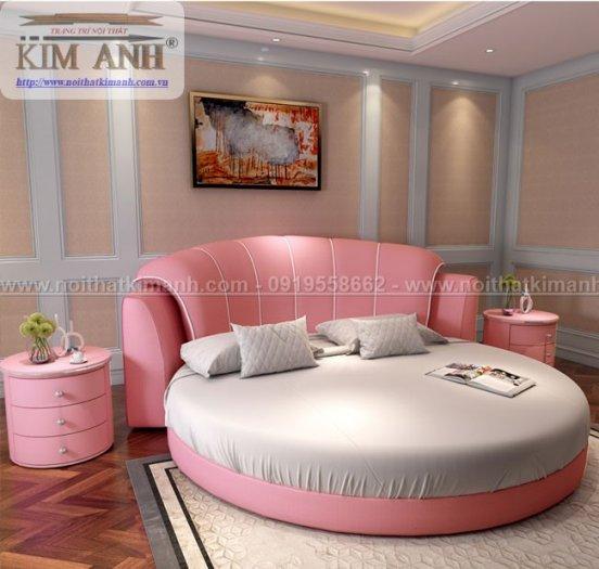 30 mẫu giường tròn sành điệu nhất năm 2021 cho phòng ngủ của bạn tại Dầu Tiếng - Bình Dương6