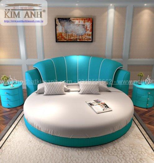 30 mẫu giường tròn sành điệu nhất năm 2021 cho phòng ngủ của bạn tại Dầu Tiếng - Bình Dương5