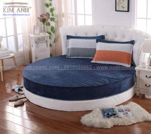 30 mẫu giường tròn sành điệu nhất năm 2021 cho phòng ngủ của bạn tại Dầu Tiếng - Bình Dương0