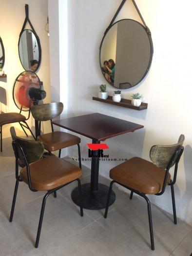 Ghế sắt cafe PCM cổ điển2