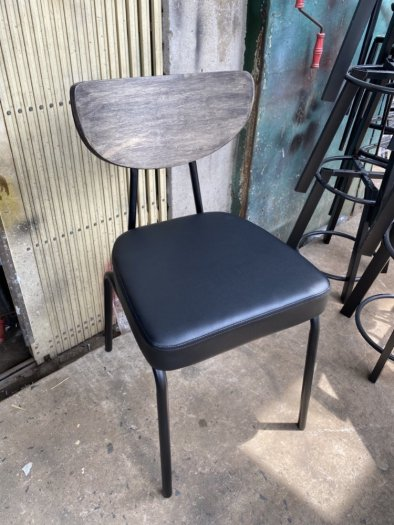 Ghế sắt cafe PCM cổ điển1