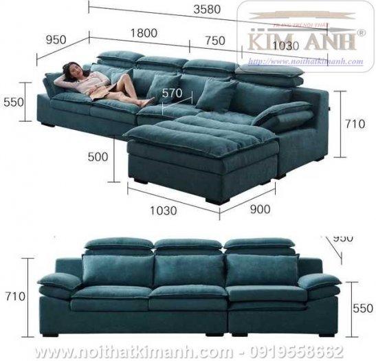 15 Bộ sofa góc chữ L đẹp bằng gỗ da và vải bán chạy nhất 2021 tại Bình Dương13