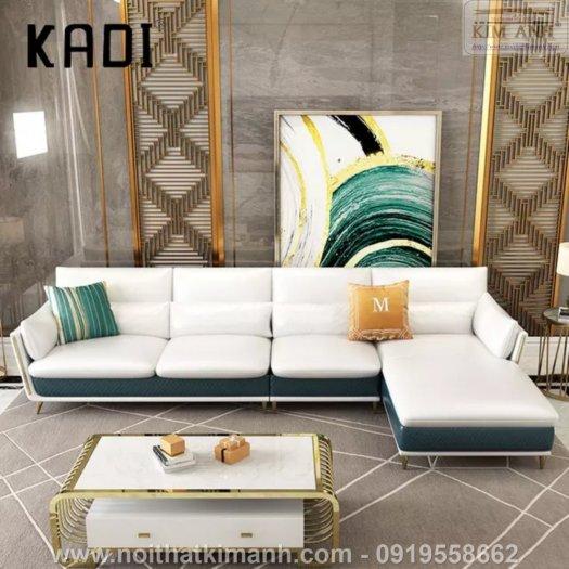 15 Bộ sofa góc chữ L đẹp bằng gỗ da và vải bán chạy nhất 2021 tại Bình Dương9