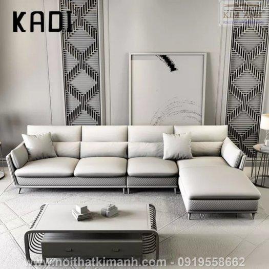 15 Bộ sofa góc chữ L đẹp bằng gỗ da và vải bán chạy nhất 2021 tại Bình Dương8