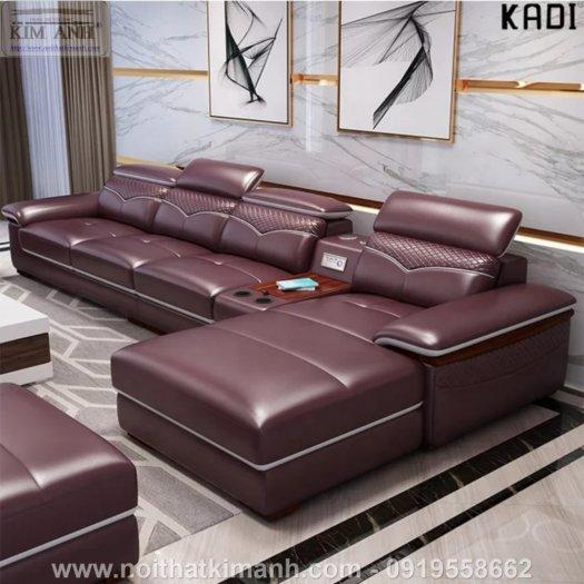 15 Bộ sofa góc chữ L đẹp bằng gỗ da và vải bán chạy nhất 2021 tại Bình Dương7