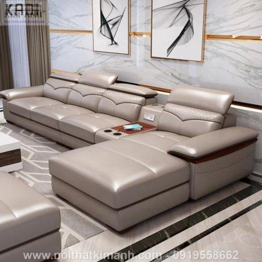 15 Bộ sofa góc chữ L đẹp bằng gỗ da và vải bán chạy nhất 2021 tại Bình Dương6