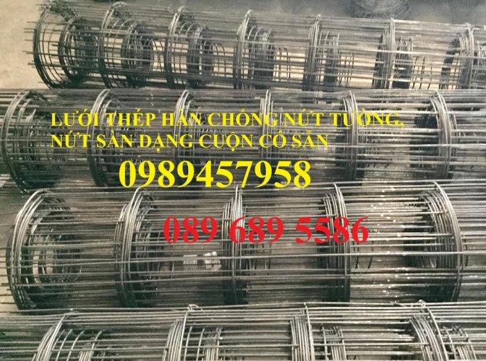 Lưới thép chống thấm phi 4 ô 200x200, D4 ô 250x250, Thép D6 200x200 có sẵn3