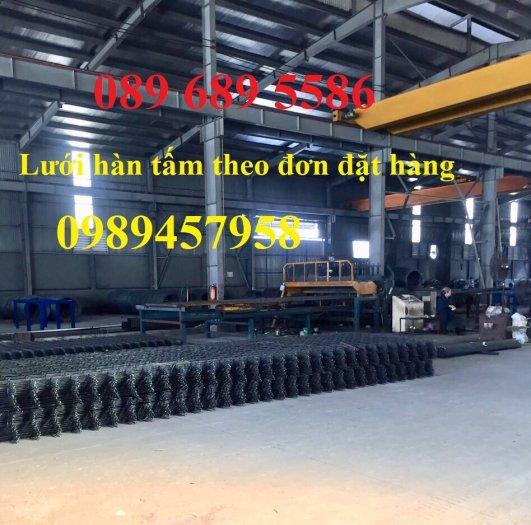 Lưới thép chống thấm phi 4 ô 200x200, D4 ô 250x250, Thép D6 200x200 có sẵn1