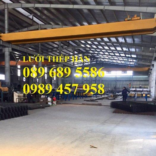 Lưới thép chống thấm phi 4 ô 200x200, D4 ô 250x250, Thép D6 200x200 có sẵn0