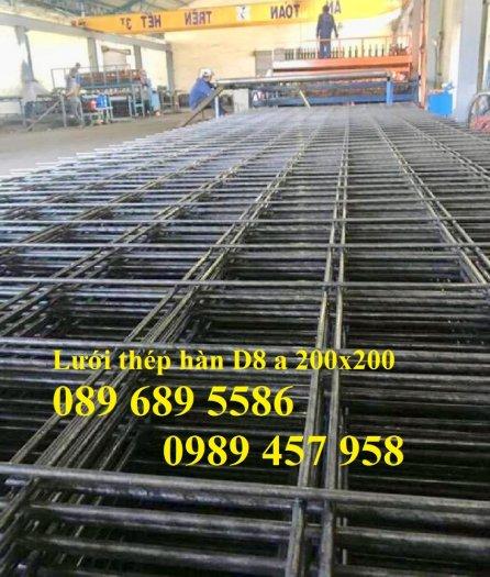 Lưới thép hàn trơn phi 6 a 50x50, 100x100, 150x150, 200x200, 250x250 giao hàng 3 ngày4