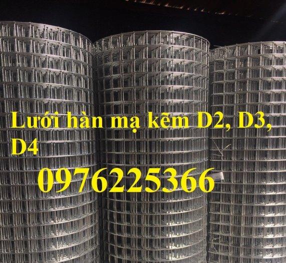 Lưới hàn mạ kẽm phi 3 A50x50, 50x100, 100x100...dạng tấm, dạng cuộn7