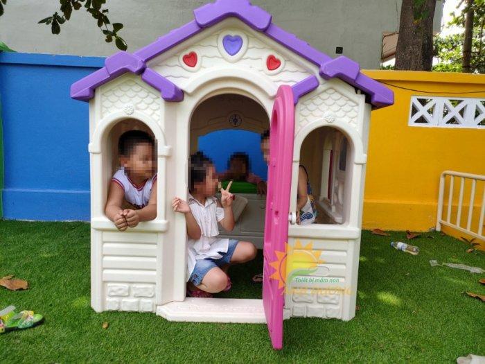 Nhà cổ tích trẻ em cho trường mầm non, khu vui chơi, quán cà phê3