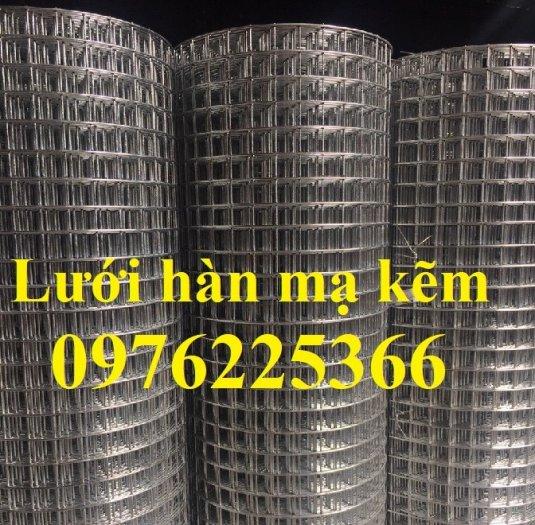 Lưới hàn mạ kẽm phi 3 A50x50, 50x100, 100x100...dạng tấm, dạng cuộn6