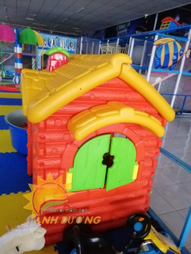 Nhà cổ tích trẻ em cho trường mầm non, khu vui chơi, quán cà phê0