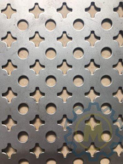 Tôn dập lỗ có hình tròn, hình hoa thị, hoa văn, lục giác, hình thoi,0