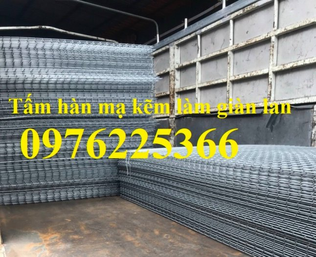 Lưới hàn mạ kẽm D2, D3, D4, D5 vuông 50x50, 100x100, 50x100, 35x358
