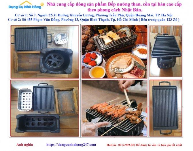 Chuyên cung ứng Bếp nướng than, cồn tại bàn Nhật Bản, lò nướng than cồn7