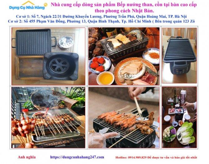 Chuyên cung ứng Bếp nướng than, cồn tại bàn Nhật Bản, lò nướng than cồn6