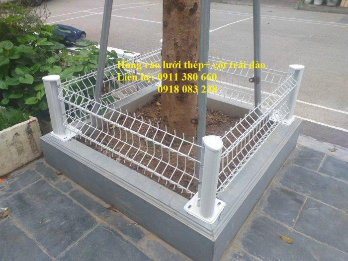 Hàng rào lưới thép mini đô thị, rào bồn cây, rào công viên,.... Nhật Minh Hiếu1