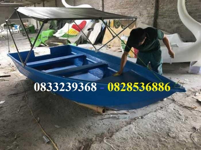 Thuyền đi sông 2-3 người có mái che nắng mưa tặng kèm áo phao cứu sinh3