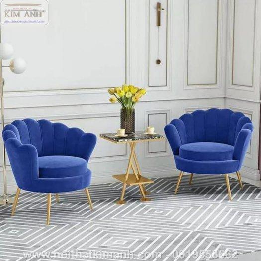 Sofa vỏ sò mẫu ghế khác lạ cho các tiệm cafe, trà sữa tại Bến Cát, Bình Dương3