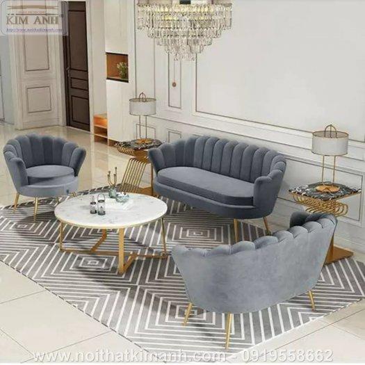 Sofa vỏ sò mẫu ghế khác lạ cho các tiệm cafe, trà sữa tại Bến Cát, Bình Dương2
