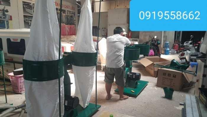 Máy hút bụi 2 túi vải giải pháp  tối ưu cho các xưởng tại Thuận An, Bình Dương3