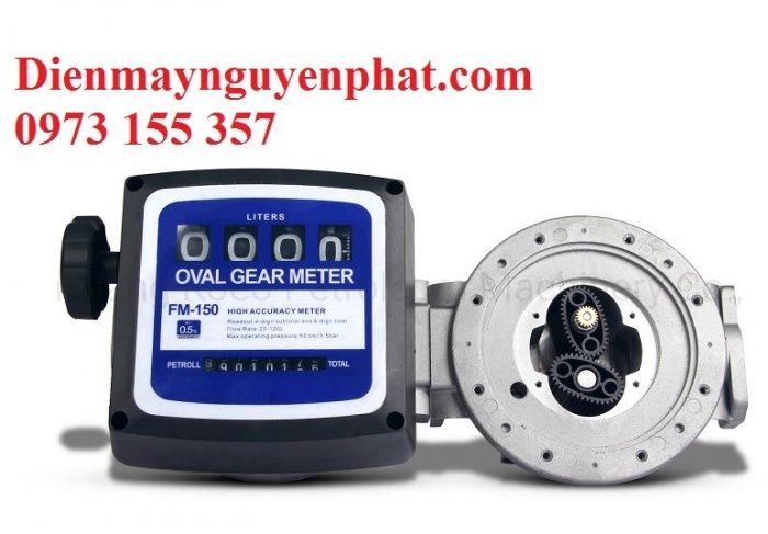Đồng hồ đo dầu FM-150,đồng hồ đo dầu hiển thị cơ0
