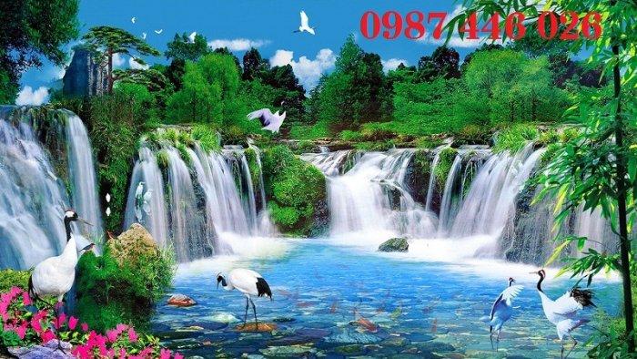Tranh gạch phong cảnh thiên nhiên tuyệt đẹp HP909016
