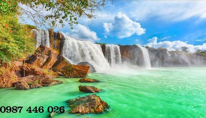 Tranh gạch phong cảnh thiên nhiên tuyệt đẹp HP909014