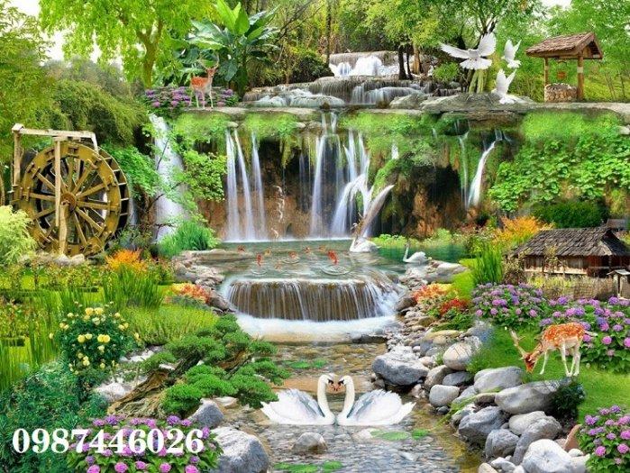 Tranh gạch phong cảnh thiên nhiên tuyệt đẹp HP90906