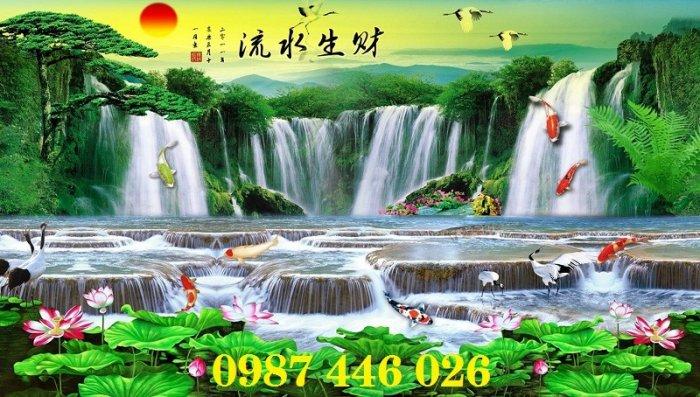 Tranh gạch phong cảnh thiên nhiên tuyệt đẹp HP90905