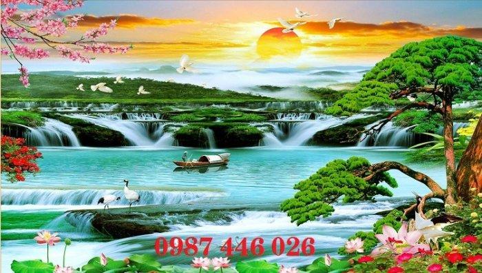 Tranh gạch phong cảnh thiên nhiên tuyệt đẹp HP90904