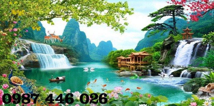 Tranh gạch phong cảnh thiên nhiên tuyệt đẹp HP90903