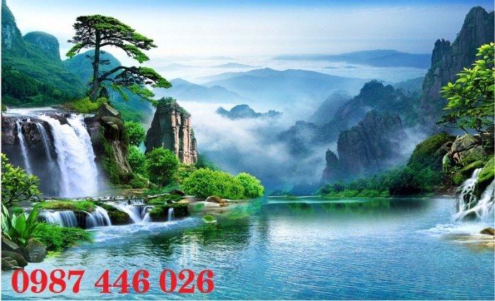 Tranh gạch phong cảnh thiên nhiên tuyệt đẹp HP90900