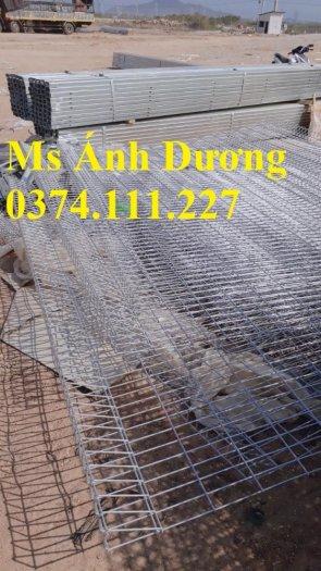 Lưới thép hàng rào mạ kẽm, hàng rào lưới thép mạ kẽm, mẫu lưới thép hàng rào giá rẻ,5