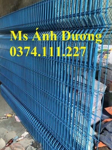 Lưới thép hàng rào chấn sóng mạ kẽm, hàng rào lưới thép mạ kẽm chấn sóng,8