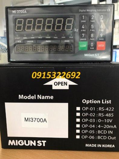 MI3700A - Đầu cân điện tử Migun - Korea. Nhập khẩu chính hãng0