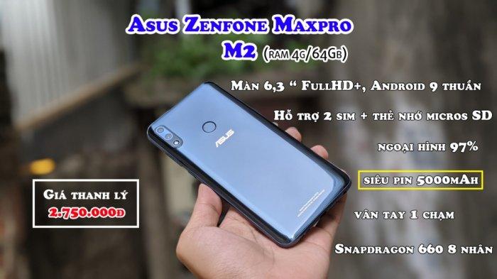Điện thoại Asus Zenfone Max Pro M2 2 SIM1