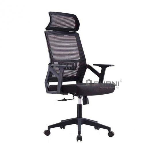 Ghế làm việc ghế văn phòng ghế nhân viên lưng lưới cao có tựa đầu giá rẻ nhập khẩu Hồ Chí Minh CM4289-M2