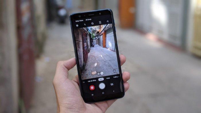 Điện thoại Samsung Galaxy A7 2018 2 SIM1