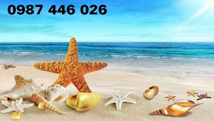 Gạch tranh bãi biển 3d HP078985