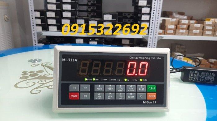 MI711A - Model đầu cân Migun giá rẻ dùng cho Cân sàn, cân bàn0
