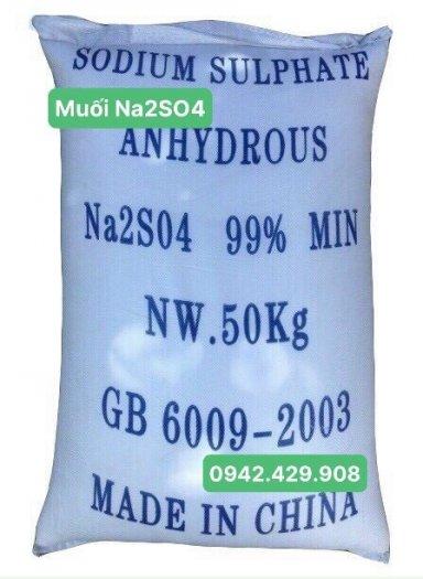 Muối Na2SO4 99% hàng mới, giá tốt0