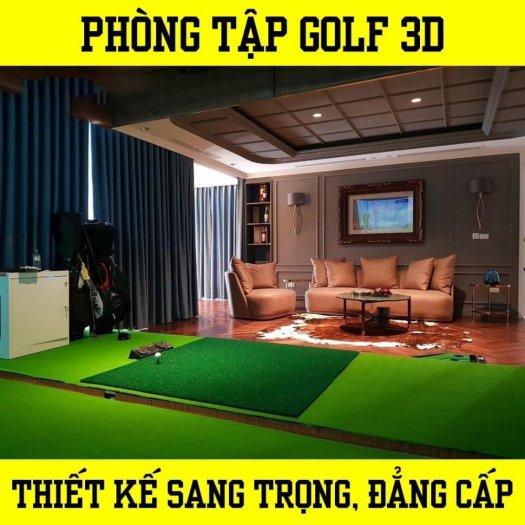 Golf 3D set up5